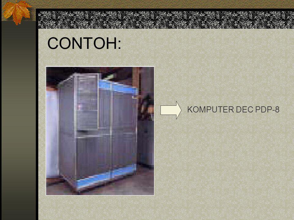 CONTOH: KOMPUTER DEC PDP-8