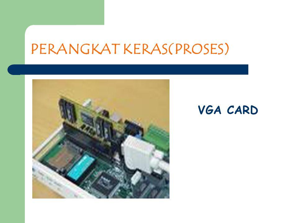 PERANGKAT KERAS(PROSES) VGA CARD