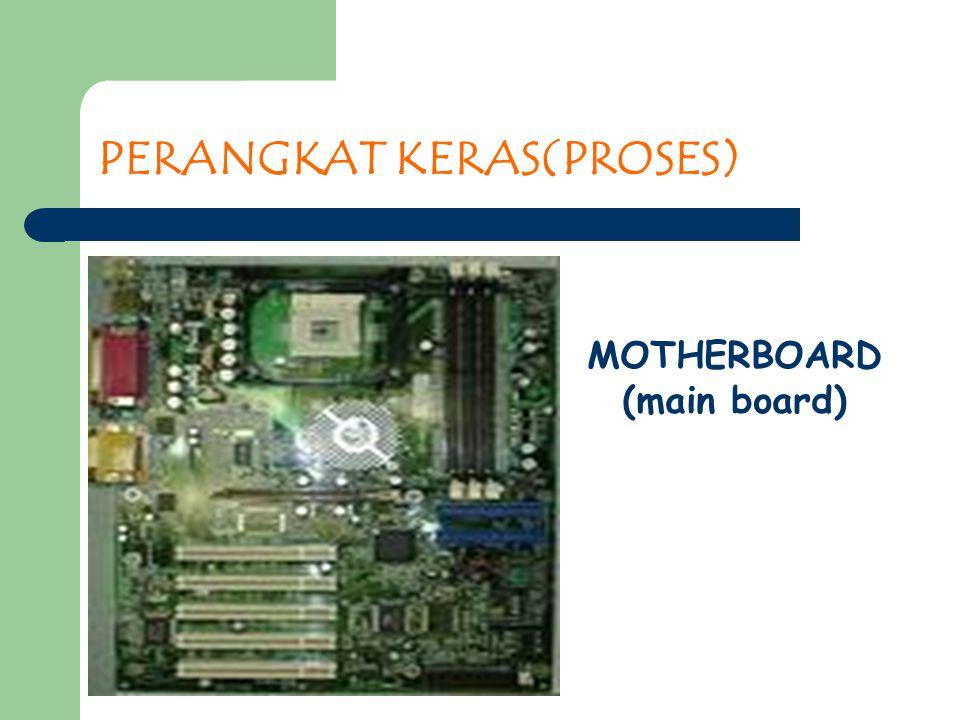 PERANGKAT KERAS(PROSES) MOTHERBOARD (main board)