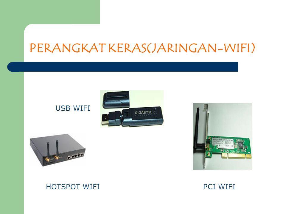 PERANGKAT KERAS(JARINGAN-WIFI) USB WIFI PCI WIFIHOTSPOT WIFI