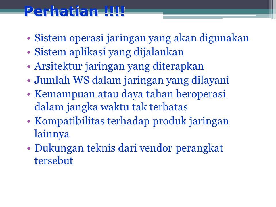 Perhatian !!!.