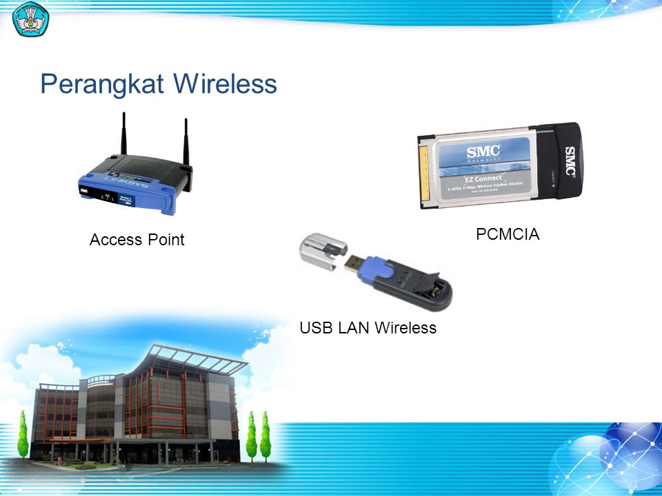 Perangkat Wireless Access Point PCMCIA USB LAN Wireless