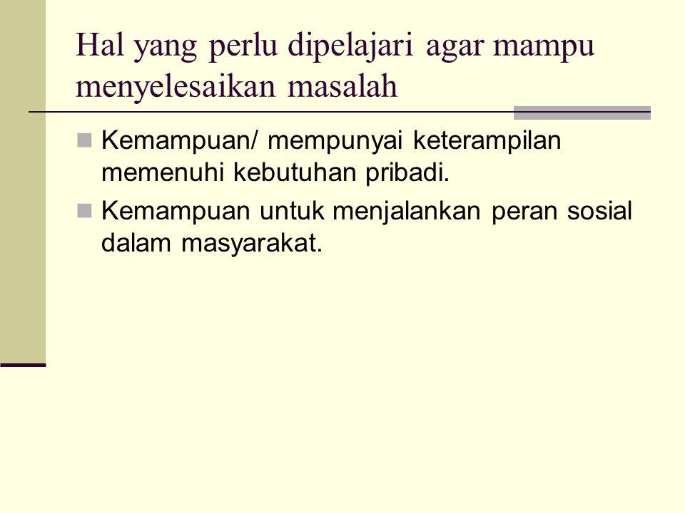 REFLEKSI Manusia Indonesia macam apa yang kita kehendaki? Tuntutan abad XXI Apa yang harus kita lakukan? Perubahan visi belajar dan pembelajaran KESEN
