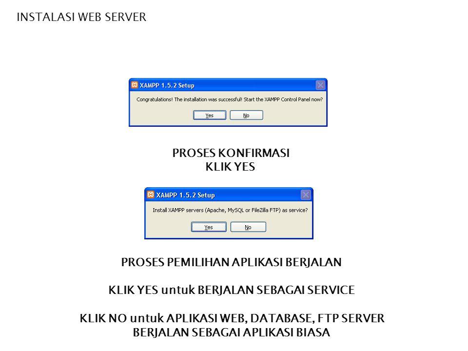 PENGENALAN PHP  Setelah paket PHP XAMPP (atau yang lain) diinstall maka server (apache) diaktifkan, database (mySql) diaktifkan  Konfigurasi program adalah berada pada C:\Program Files\XAMPP  Kode PHP kita letakan pada folder C:\Program Files\xampp\htdocs  Program yang dieksekusi dengan browser adalah pada alamat : http://localhost/namafile.php atau jika file php berada di dalam folder http://localhost/namafolder/namafile.php