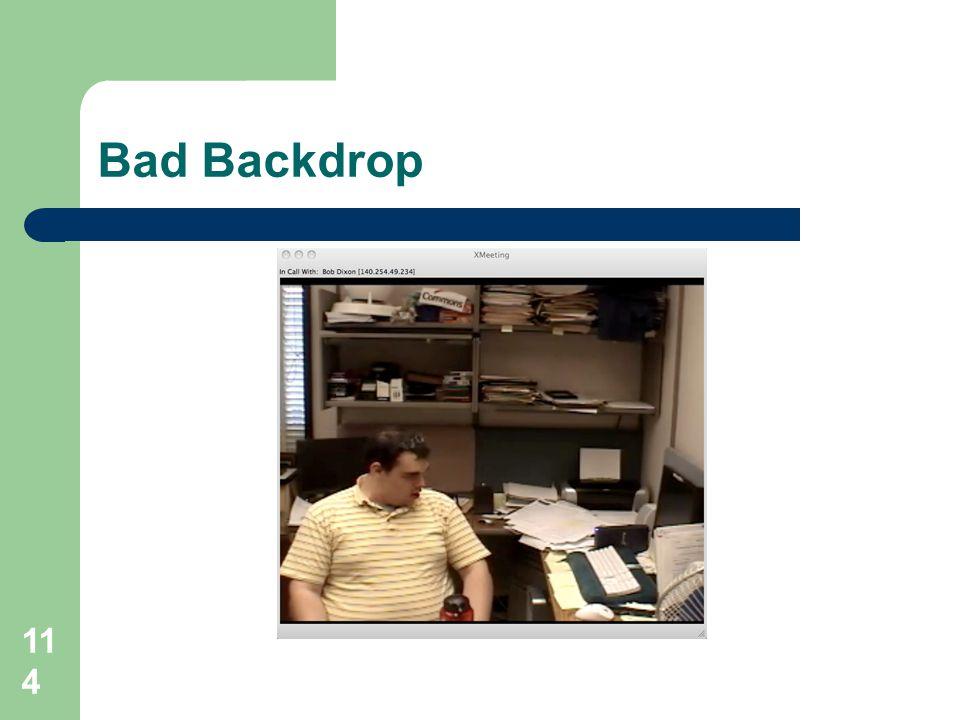 Bad Backdrop 114