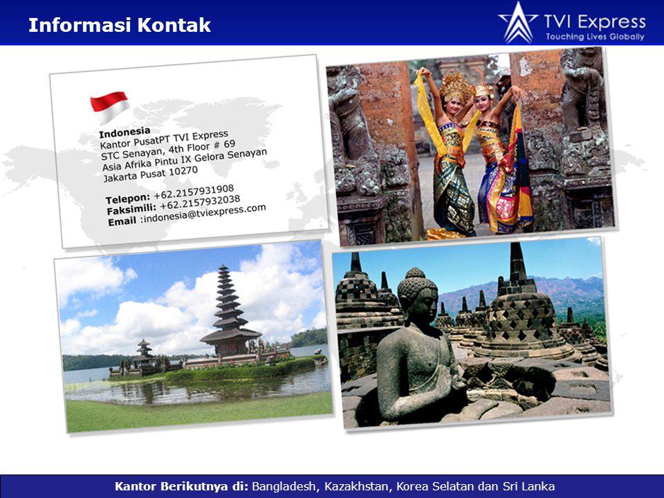 Informasi Kontak Kantor Berikutnya di: Bangladesh, Kazakhstan, Korea Selatan dan Sri Lanka