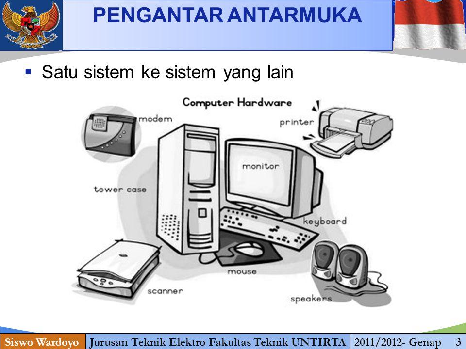 www.themegallery.com PENGANTAR ANTARMUKA Siswo WardoyoJurusan Teknik Elektro Fakultas Teknik UNTIRTA2011/2012- Genap 4  computer to computer