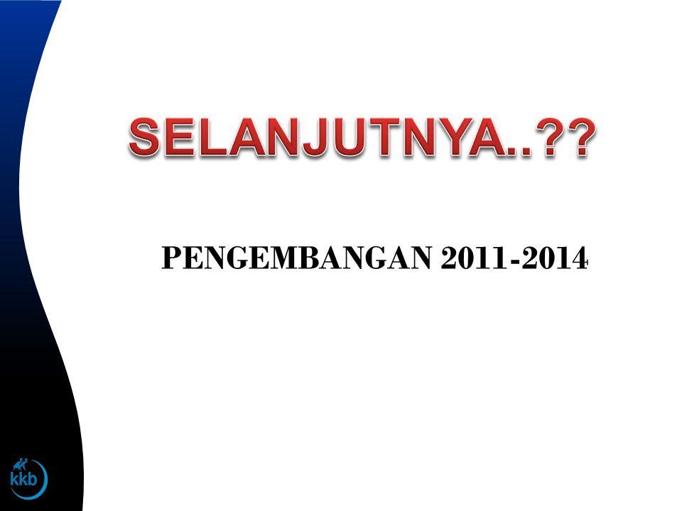 PENGEMBANGAN 2011-2014