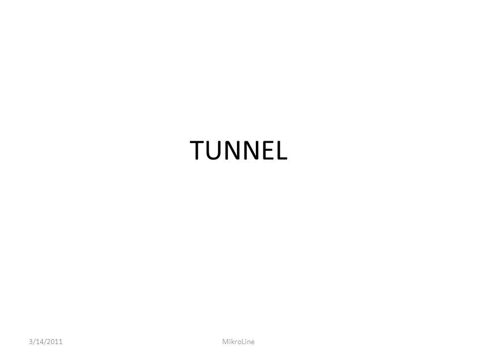 TUNNEL 3/14/2011MikroLine