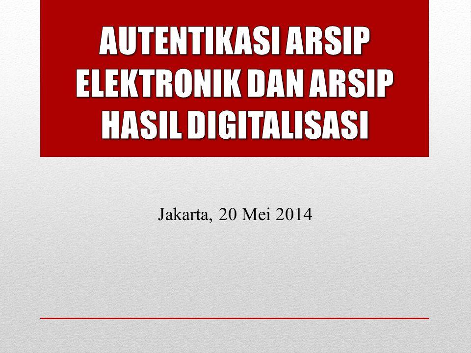 Jakarta, 20 Mei 2014