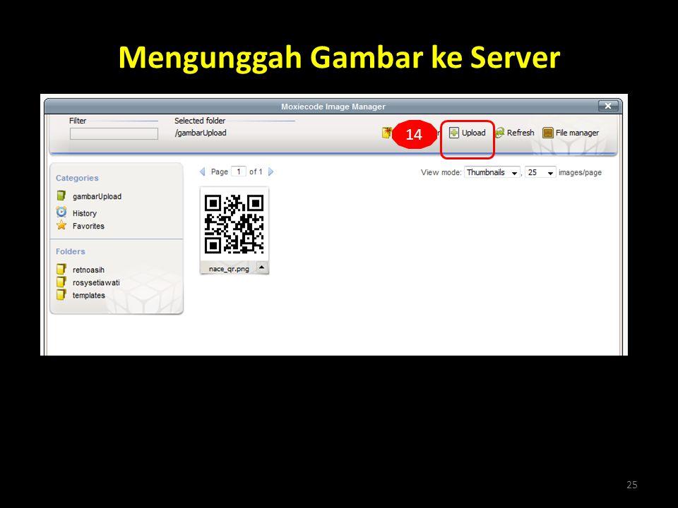 Mengunggah Gambar ke Server 25 14