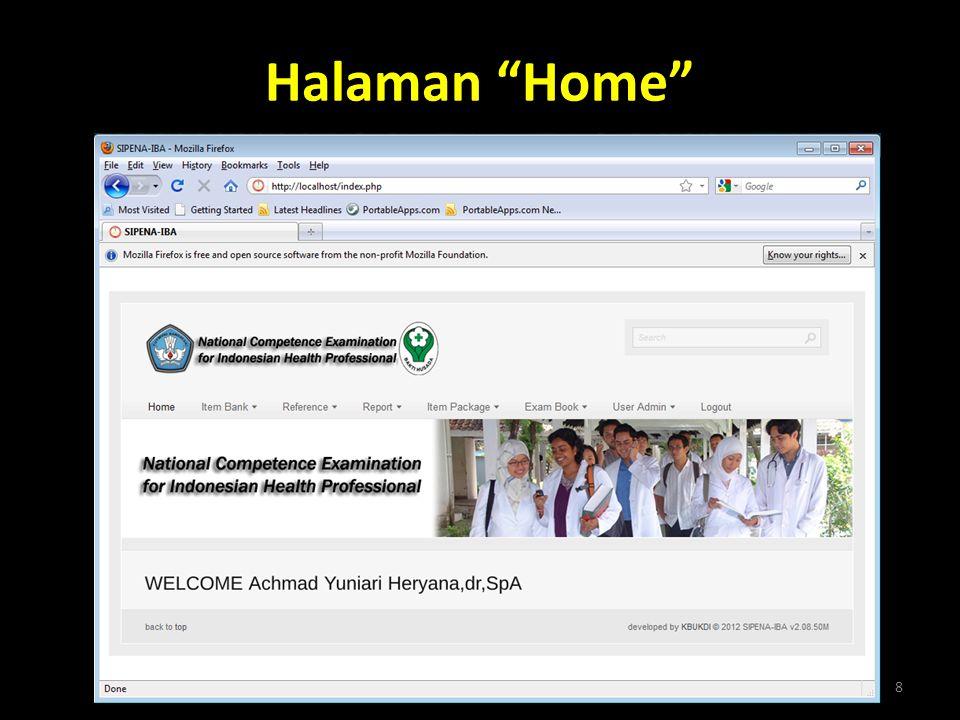 """Halaman """"Home"""" 8"""