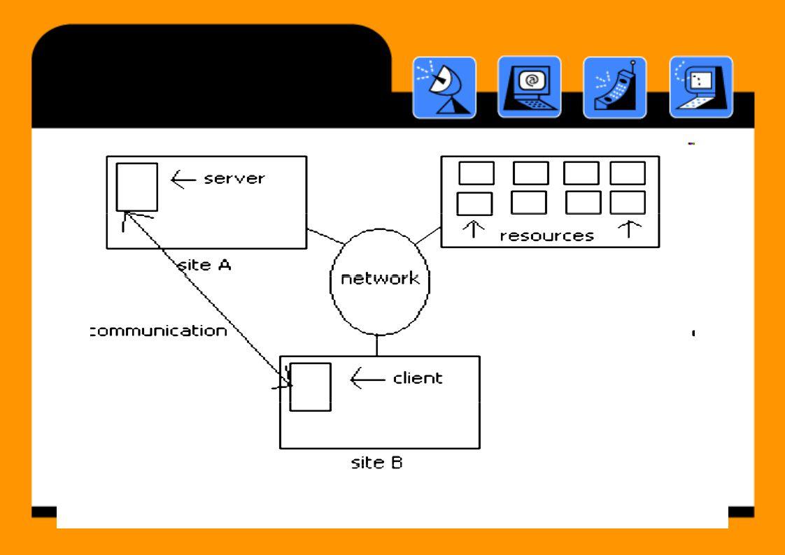 Tantangan •Openness – Memastikan sistem dapat diperluas dalam pemeliharaan • Mengikuti standard antarmuka dan mudah • Solusi: Adanya publikasi dari spesifikasi (RFC) Security • –Confidentiality (pencegahan terhadap hak akses orang yang tidak berhak) Integrity (pencegahan terhadap perubahan data) Availability (pencegahan terhadap masalah ketersediaan, misalnya mencegah DDOS) oleh ––––