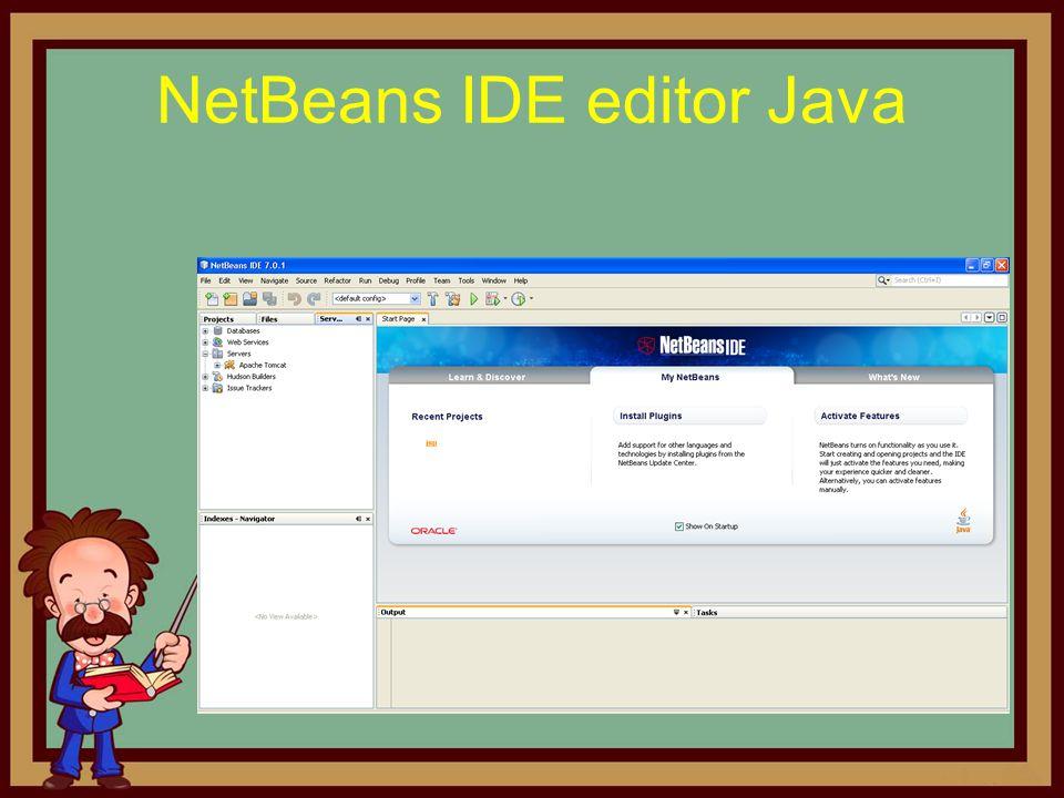 NetBeans IDE editor Java
