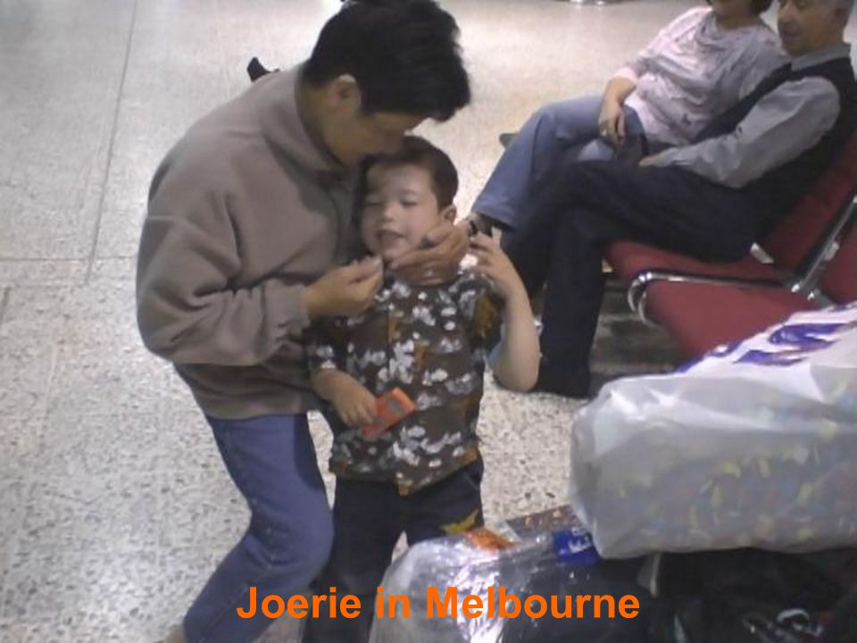 Joerie in Melbourne