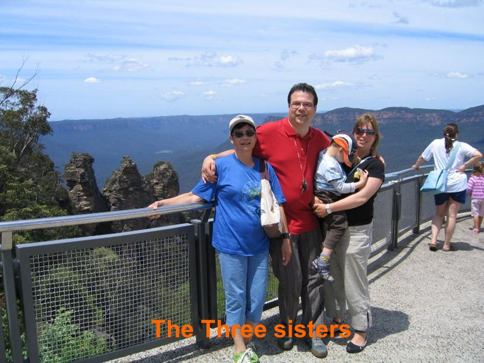 Blue Mountains near Sydney