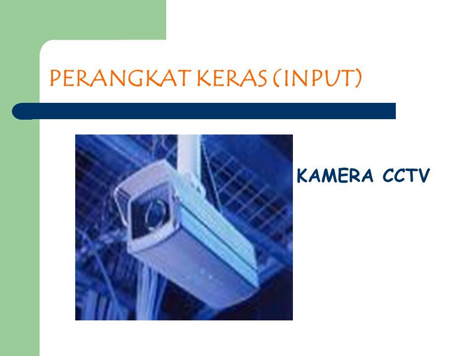 PERANGKAT KERAS (INPUT) KAMERA CCTV
