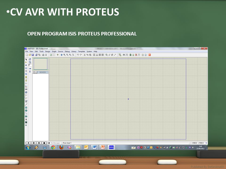 • CV AVR WITH PROTEUS OPEN PROGRAM ISIS PROTEUS PROFESSIONAL Published By Stefanikha69