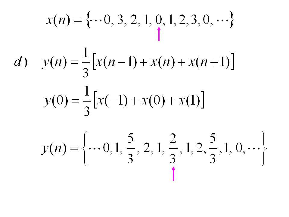 Contoh Soal 5.5 Tentukan apakah sistem-sistem di bawah ini linier atau nonlinier