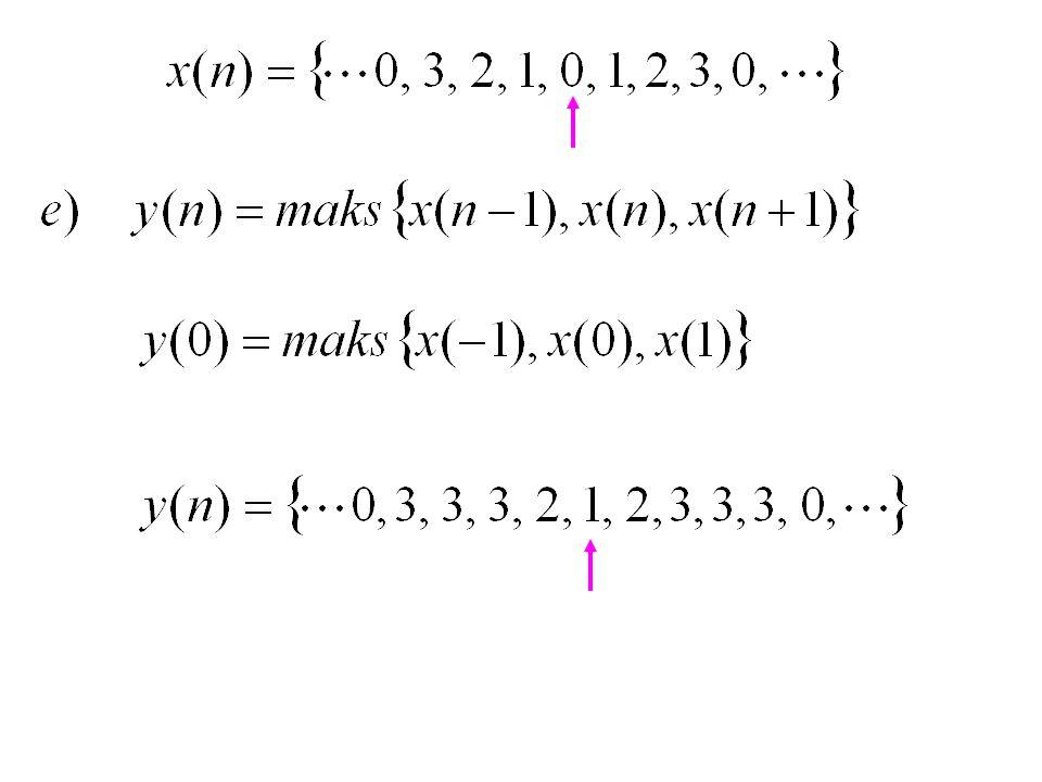Sistem Kausal :  Outputnya hanya tergantung pada input sekarang dan input yang lalu • x(n), x(n-1), x(n-2), …..