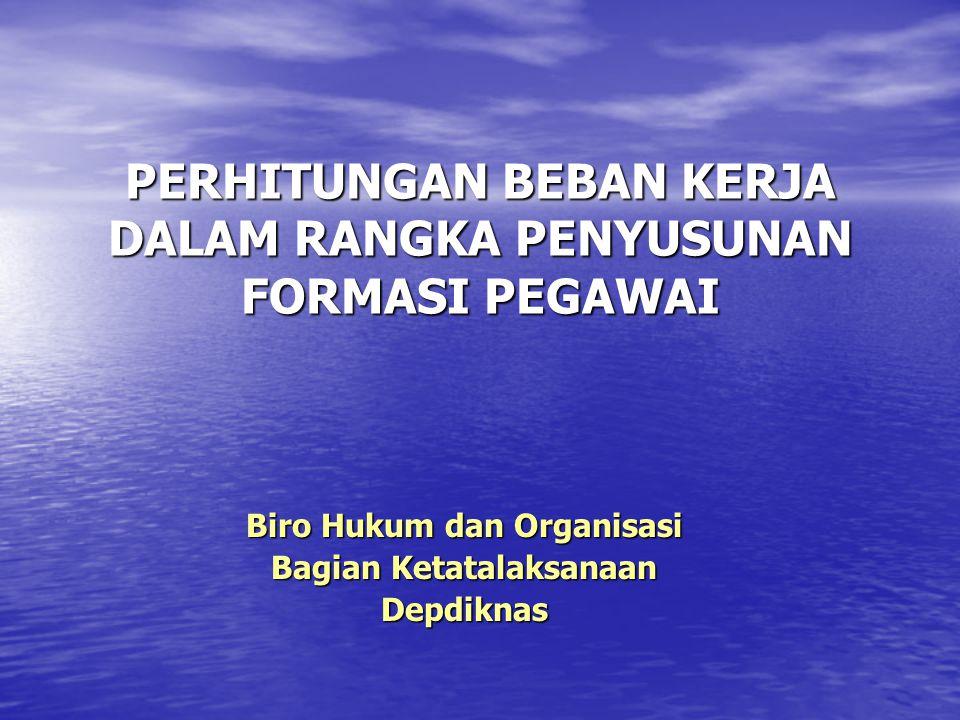 PENDAHULUAN • Latar Belakang –Pengangkatan pegawai belum sesuai antara kompetensi dengan jabatan/tugas yang diembannya.