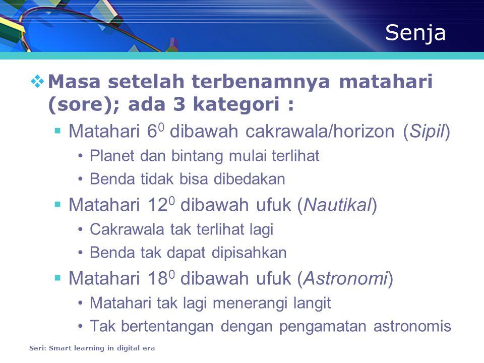 Istiwak  Jam matahari (berdasar pd bayangan posisi matahari)  Penunjuk shalat bagi umat islam  Jam 12:00 = saat matahari berada diatas ka'bah  Penunjuk kiblat  ≈ GMT !!.