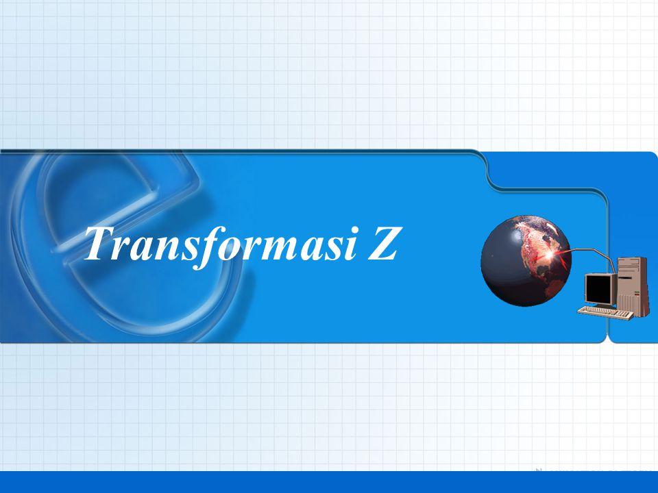 Analisa Sistem Waktu Diskrit8 Transformasi Z: Definisi •Transformasi Z dari sebuah sekuen y, dinotasikan dengan: yang didefinisikan oleh, dimana z merupakan bilangan kompleks.