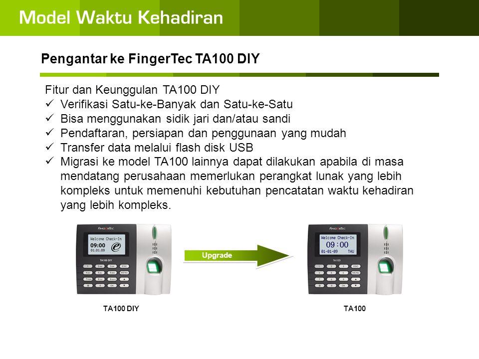 •Karena TA100 DIY tidak disertai dengan perangkat lunak aplikasi tersendiri, semua input dan pengaturan harus dilakukan menggunakan tombol.