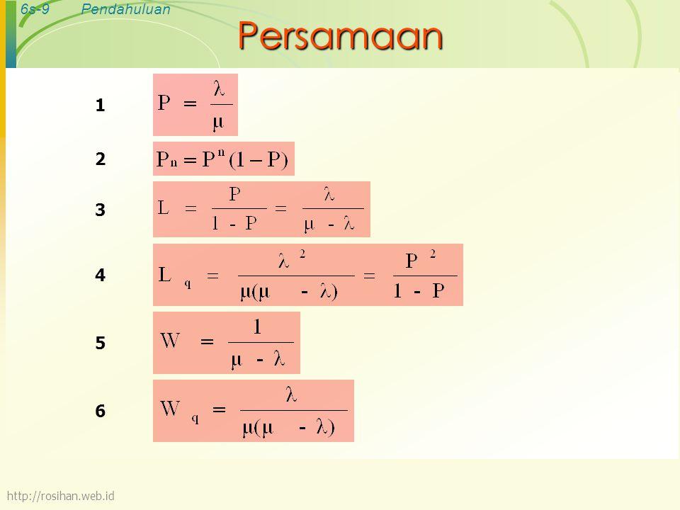 6s-9Pendahuluan Persamaan 1 2 3 456 http://rosihan.web.id