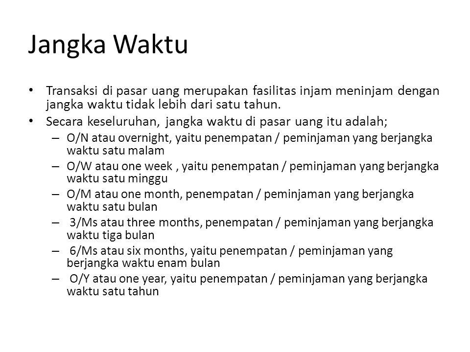 Mekanisme Bank Indonesia Bank BNI Bank Mandiri Pinjam rupiah Nota kredit