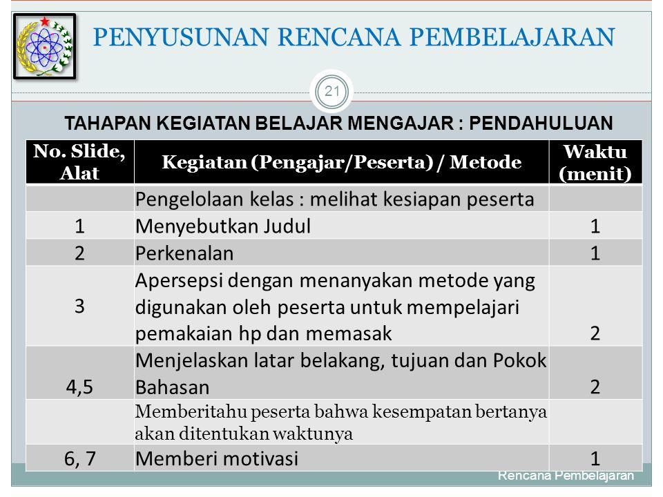 Rencana Pembelajaran 21 No.