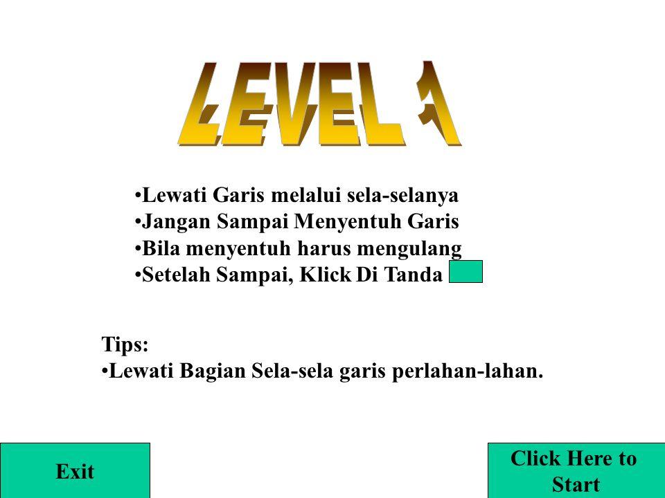 Play Exit Dibuat Oleh: Galih Jayakusumah Level: 1, 2, 3, 4, 5, 6, 7, 8, 9, 1012345678 910
