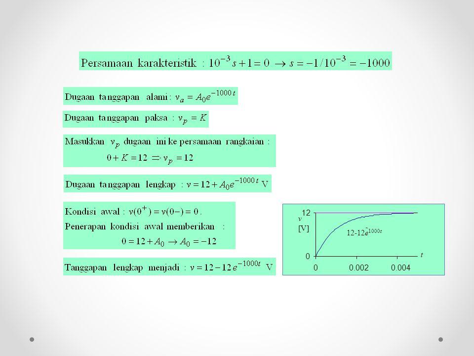 v [V] 12-12e 1000t t 0 12 00.0020.004