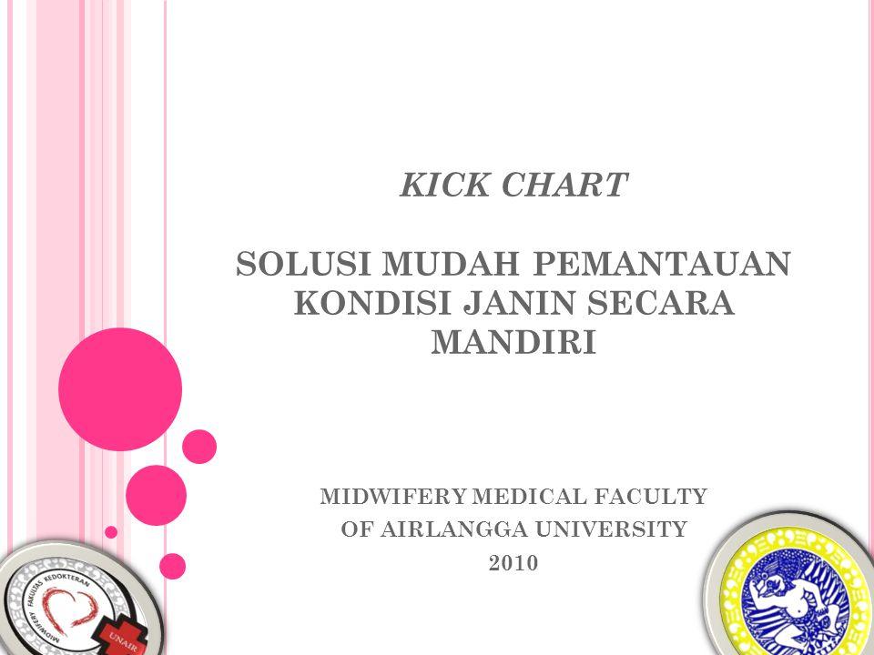 KICK CHART SOLUSI MUDAH PEMANTAUAN KONDISI JANIN SECARA MANDIRI MIDWIFERY MEDICAL FACULTY OF AIRLANGGA UNIVERSITY 2010