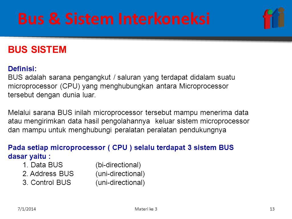 FUNGSI KOMPUTER  Address Bus : Digunakan untuk menandakan lokasi sumber ataupun tujuan pada proses transfer data.