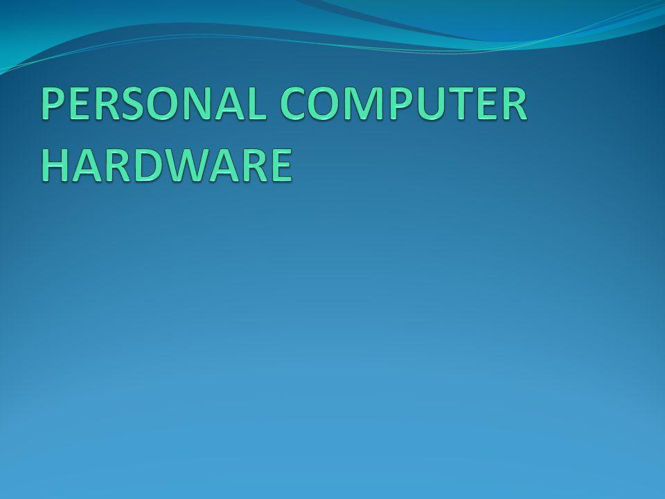 Personal Computer Model PC ( Tower – Desktop ) Isi dari PC Power Supply Processor RAM (Memory) Tower Desktop Harddisk CD-ROM Drive Kabel SATA u/ Harddisk & CD-ROM Drives Interface Card PCI Slot