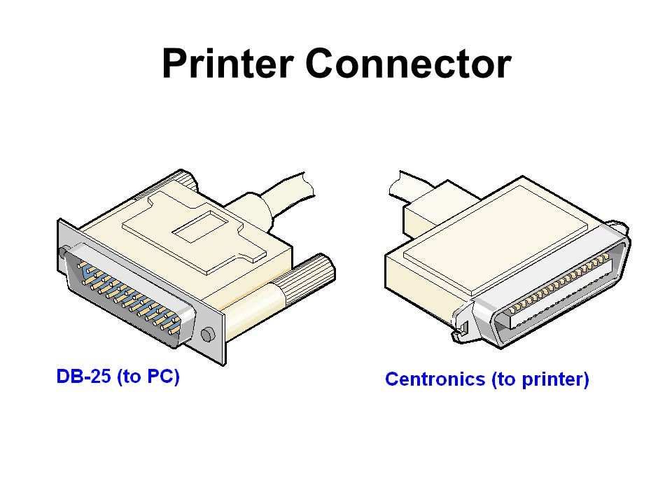 Printer Connector