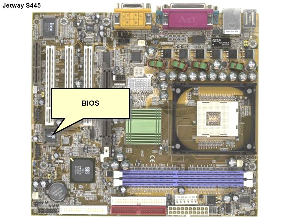BIOS Jetway S445