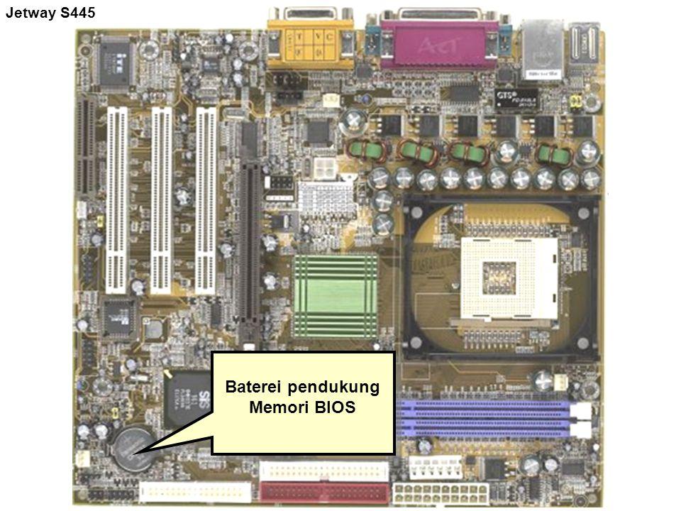 Baterei pendukung Memori BIOS Jetway S445