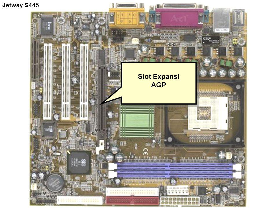 Slot Expansi AGP Slot Expansi AGP Jetway S445