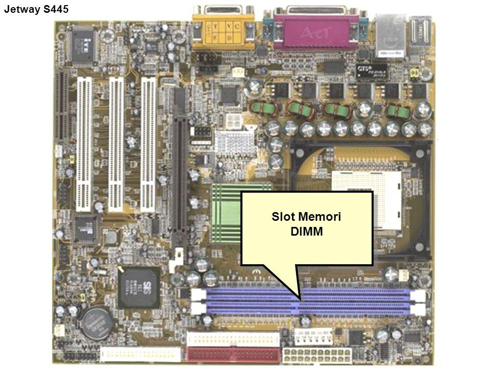 Slot Memori DIMM Slot Memori DIMM Jetway S445