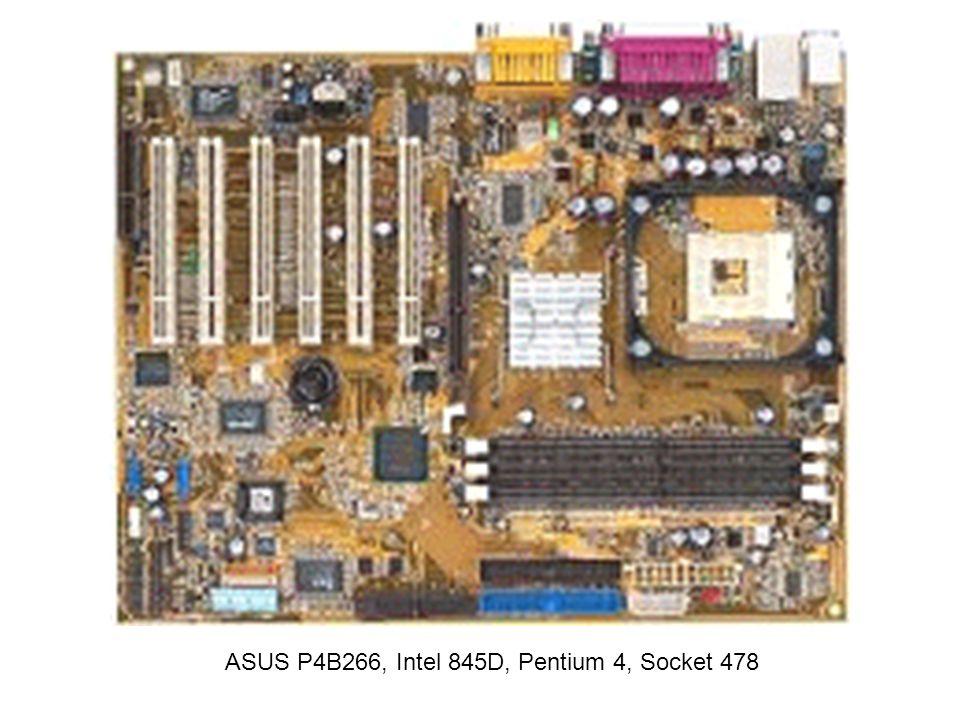 ASUS P4B266, Intel 845D, Pentium 4, Socket 478