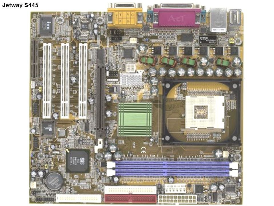 Socket 423 Untuk Prosesor Utama (Pentium 4) Socket 423 Untuk Prosesor Utama (Pentium 4) Jetway S445