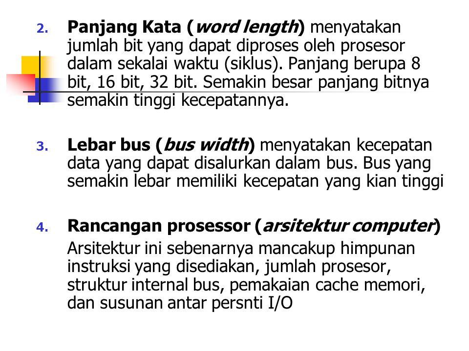 MEMORI UTAMA Memori utama (main memory) / memori primer (primary memory) / memori internal (internal memory).