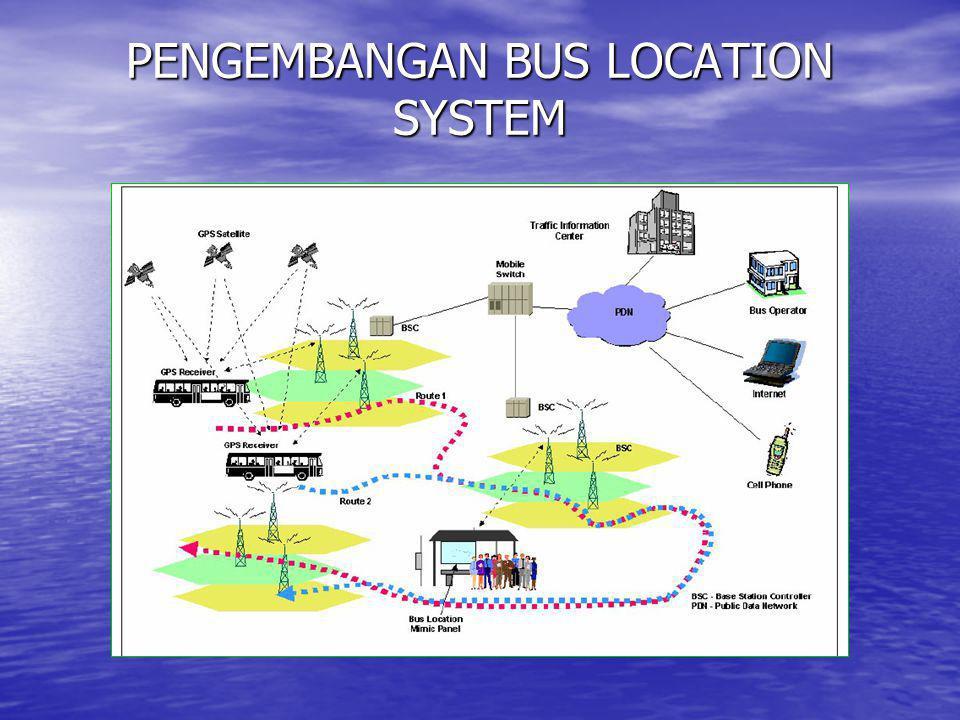 PENGEMBANGAN BUS LOCATION SYSTEM