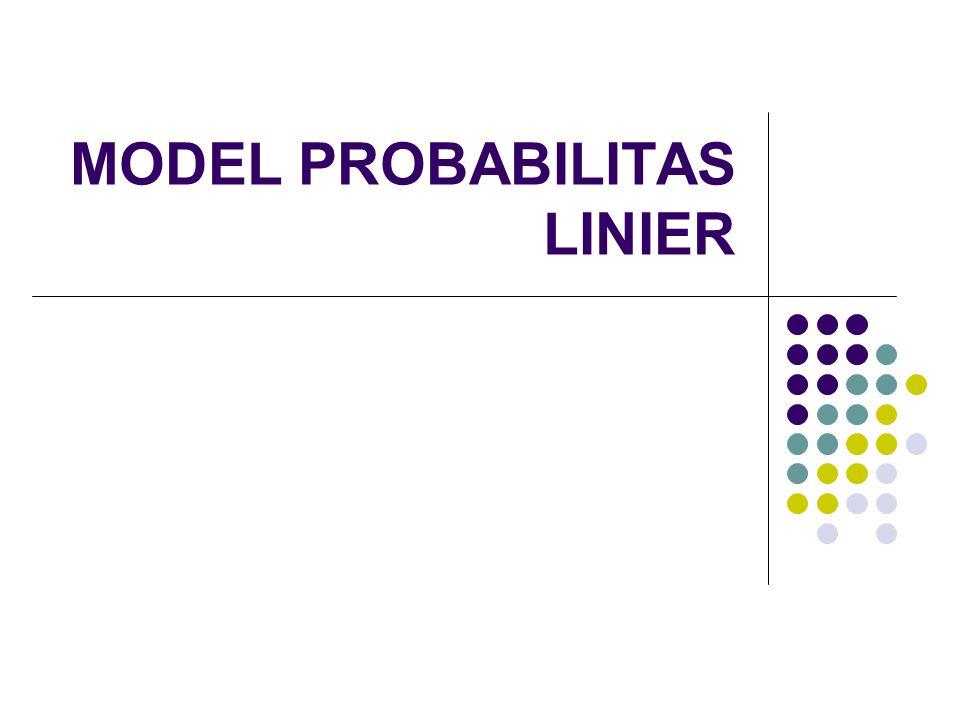 Uji G: Nilai –2 log likelihood = 189,331.Semua variabel signifikan secara bersama-sama.