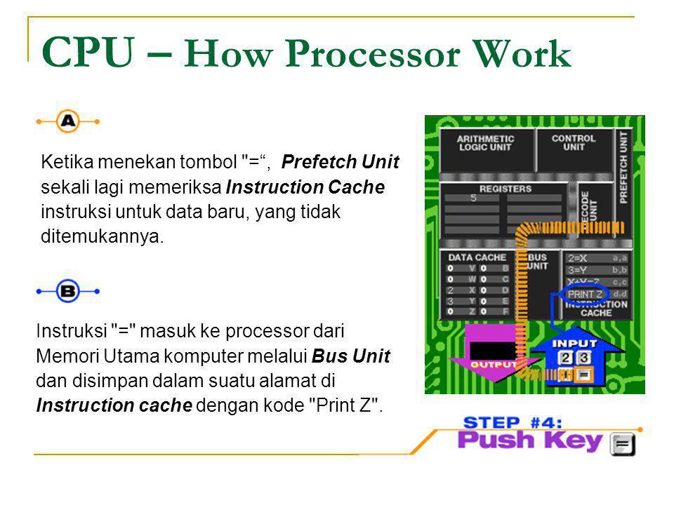 CPU – How Processor Work Ketika menekan tombol
