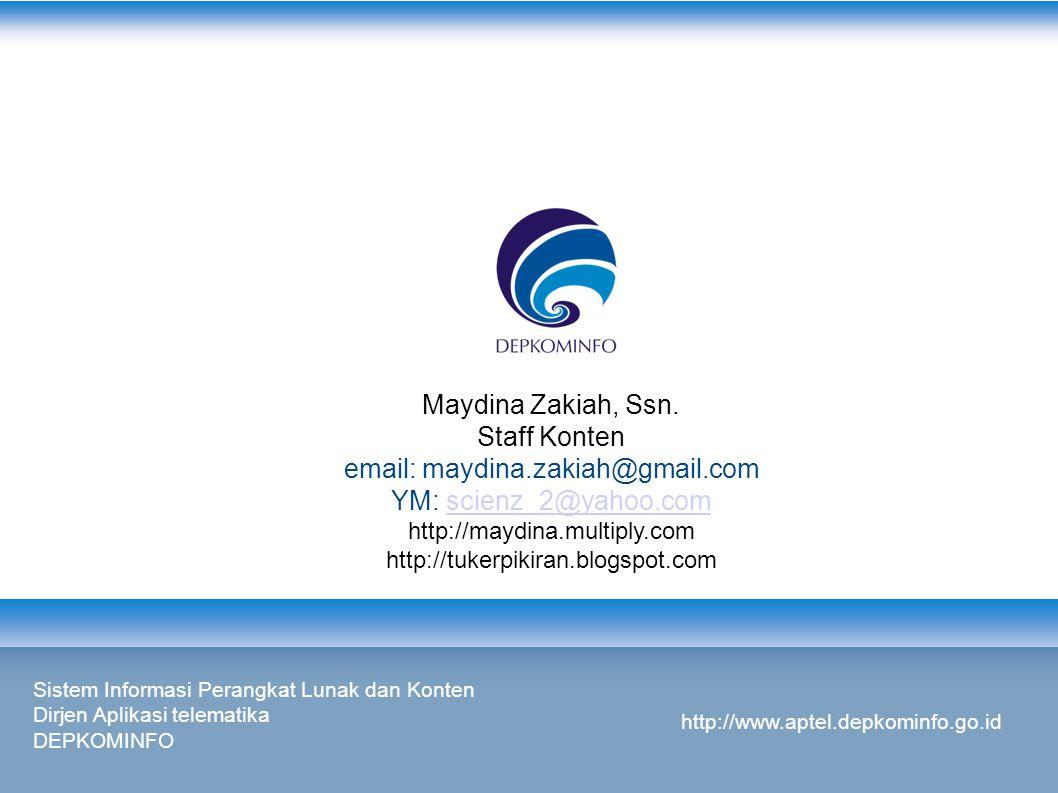 Maydina Zakiah, Ssn.
