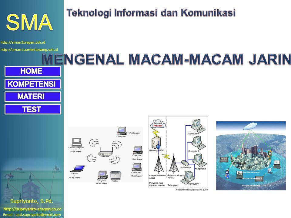 http://sman1sumberlawang.sch.id http://sman3sragen.sch.id Email : spd.supriyanto@ymail.com http://supriyanto-sragen.co.cc Supriyanto, S.Pd.