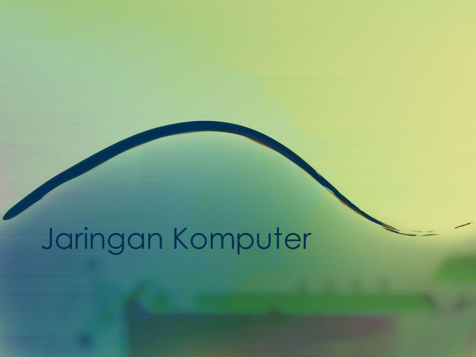 •Definisi Kelompok komputer yang saling berbagi informasi menggunakan teknologi kabel (wired) atau nirkabel (wireless).